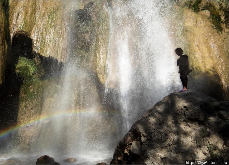 Малый водопад Арсланбоба Арсланбоб, Киргизия