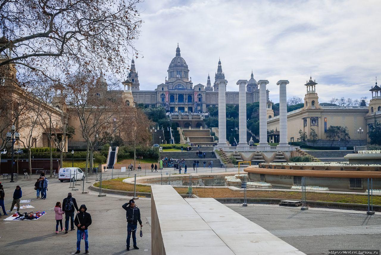 Национальный музей искусства Каталонии  Википедия