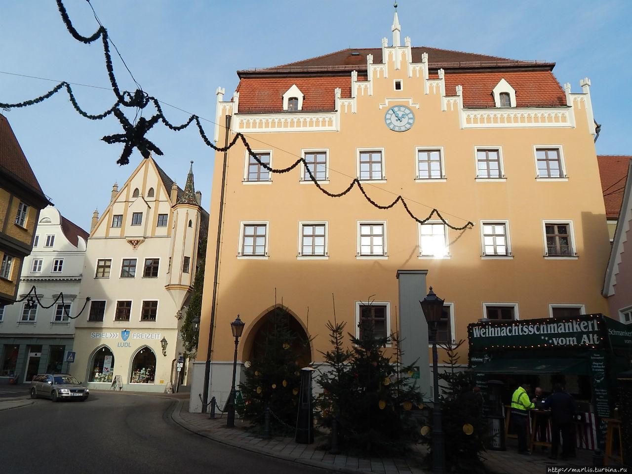 Здание ратуши Донаувёрт, Германия