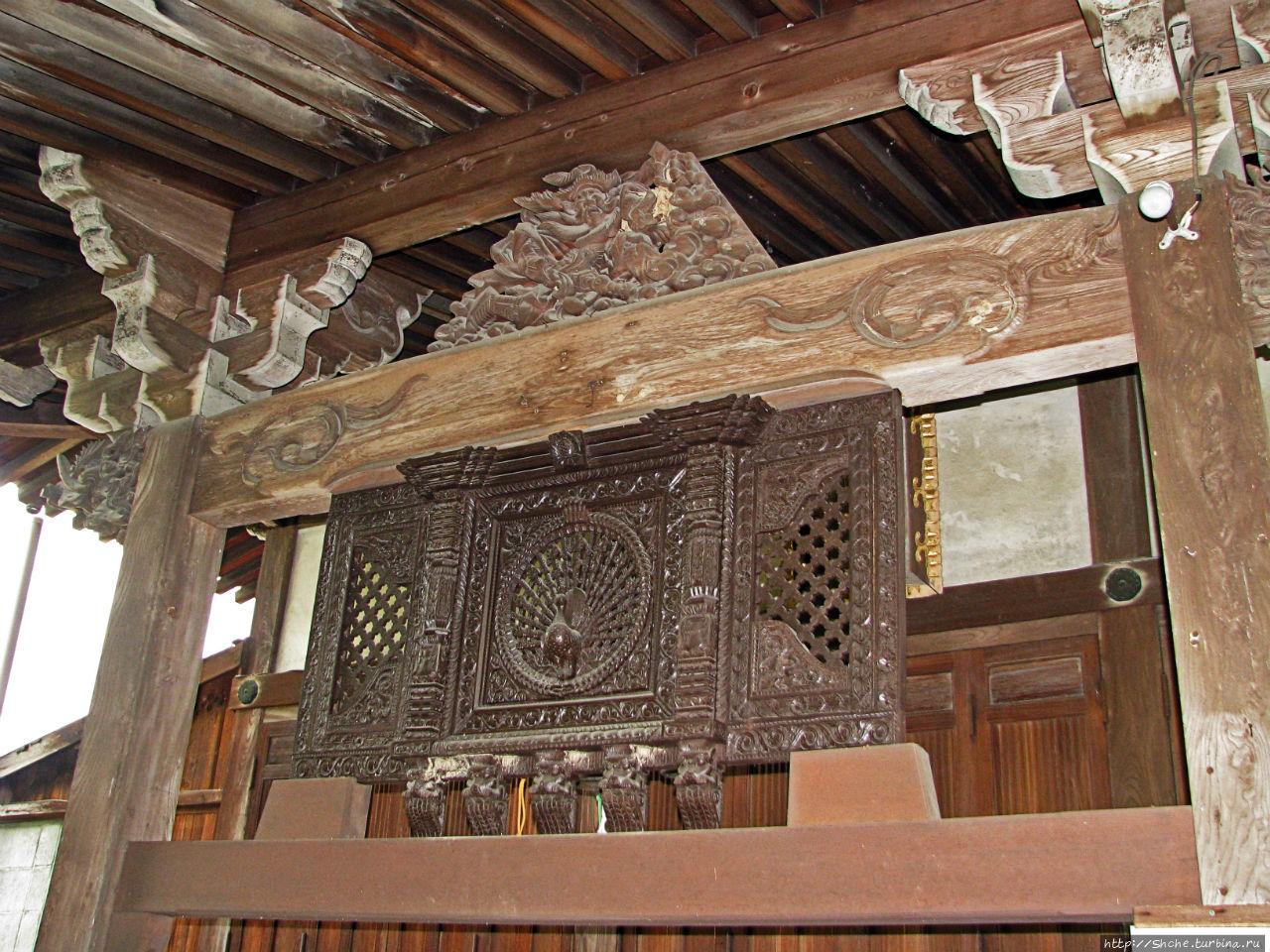 Син-Якуси-дзи храм Нара, Япония