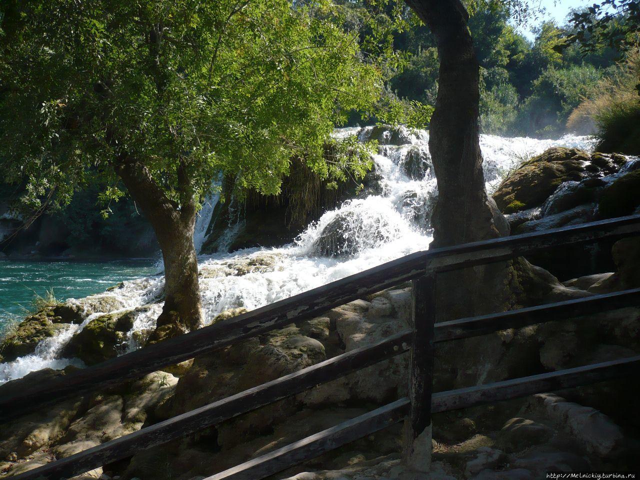 Феерия водопадов КРКА Национальный парк Крка, Хорватия