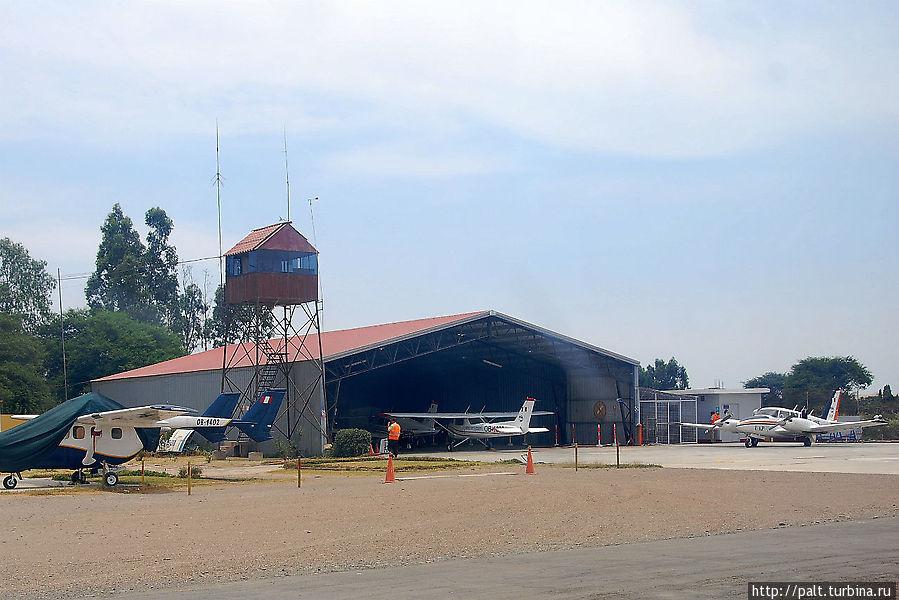 Аэродром в Ике