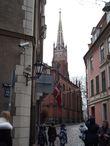 Англиканская церковь Святого Искупителя (1859) изначально предназначалась для посещения английскими моряками.