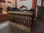 Гробница Св. Венделина, 1506. Скульптура Венделина на крышке  — начало XX века