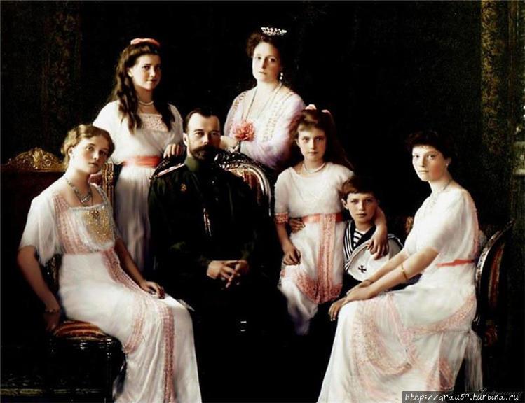 Семья Николая Второго (фо