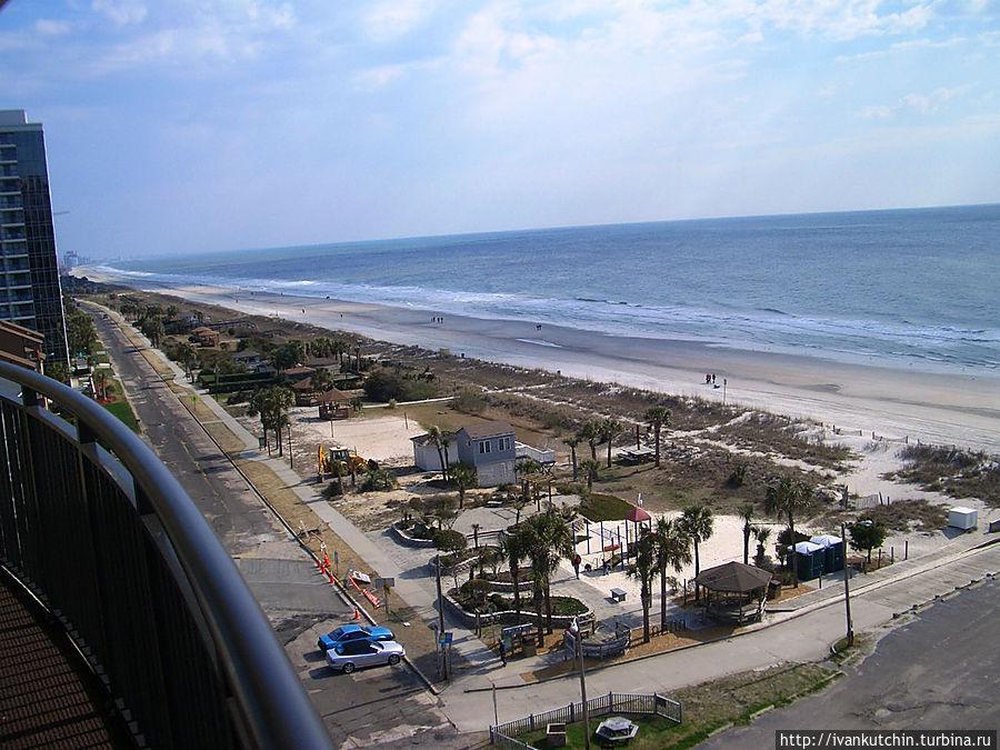 Вид с балкона 11 этажа