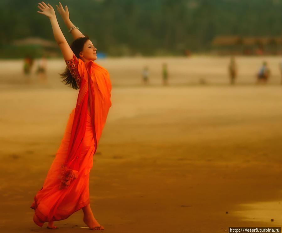 Я знаю где живет счастье... Мандрем, Индия