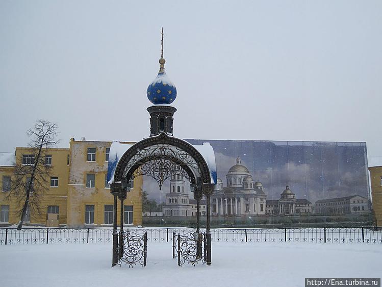 На этом месте стоял Казан