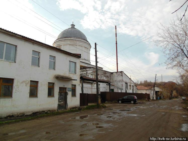 Бывшая Казанская  церковь