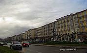 Сантандер, Бульвар Пасео Переда зимой.