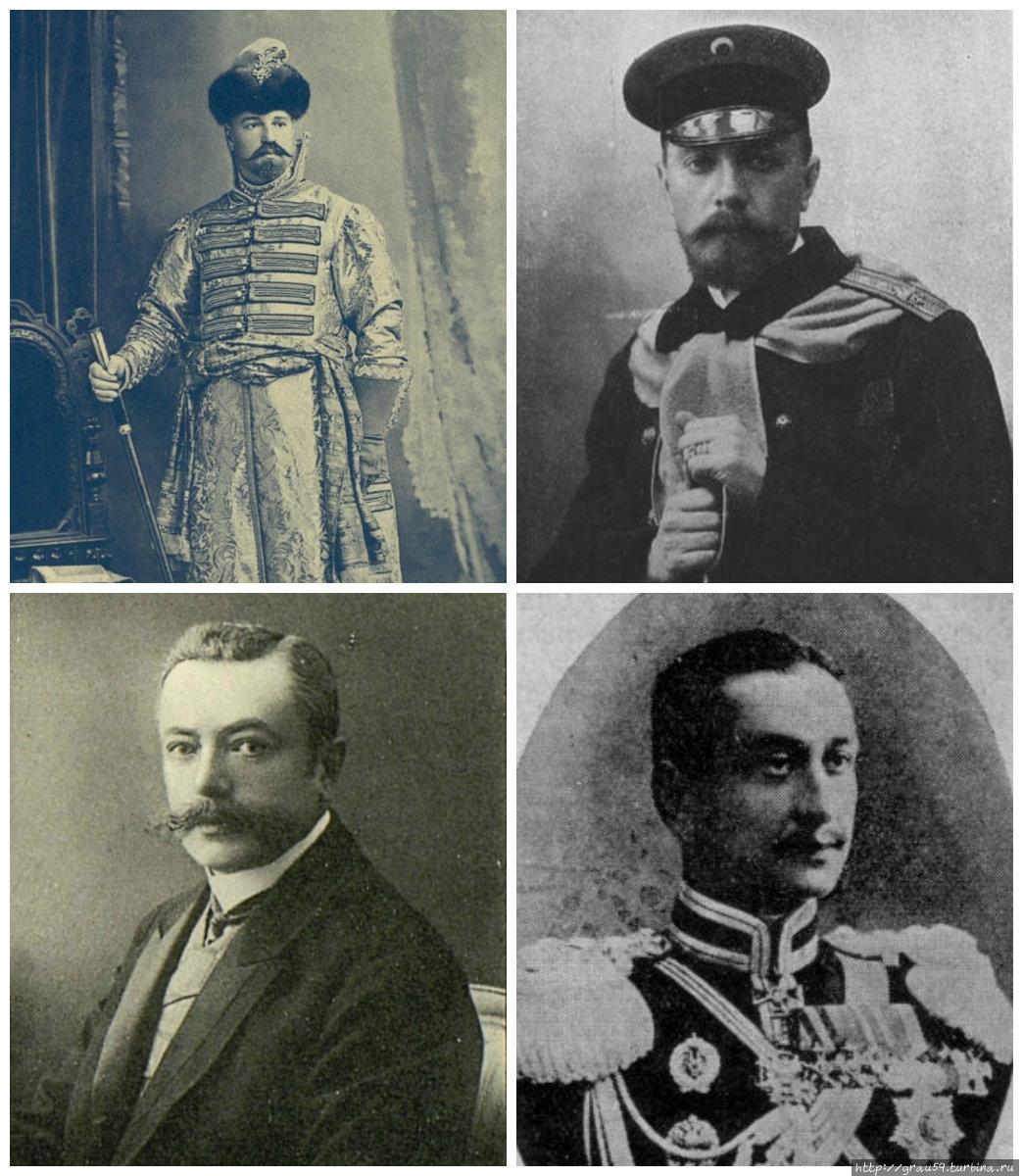Губернаторы Трепов, Апраксин, Лавриновский, Княжевич