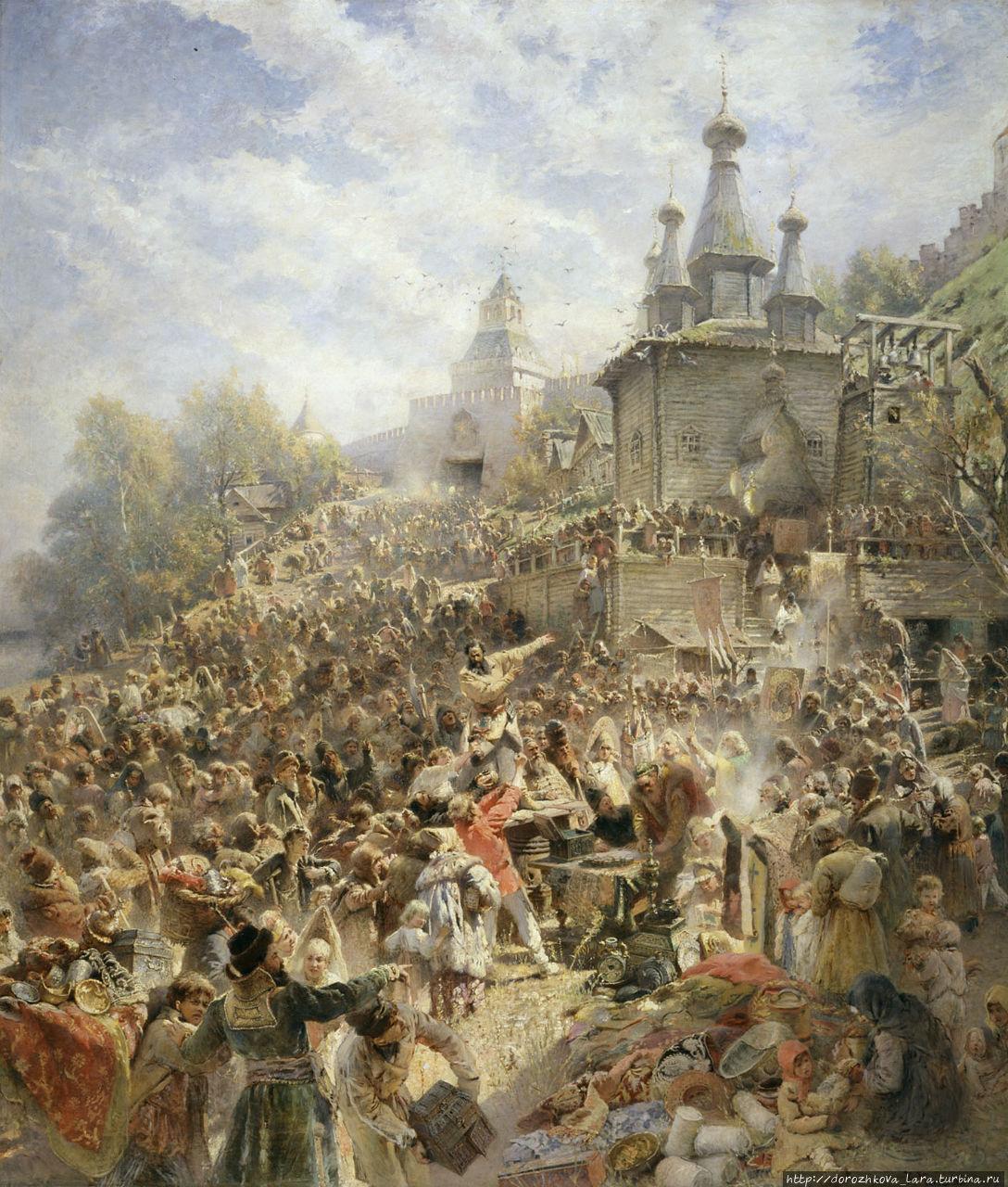 Константин Егорович Маковский «Воззвание Минина»