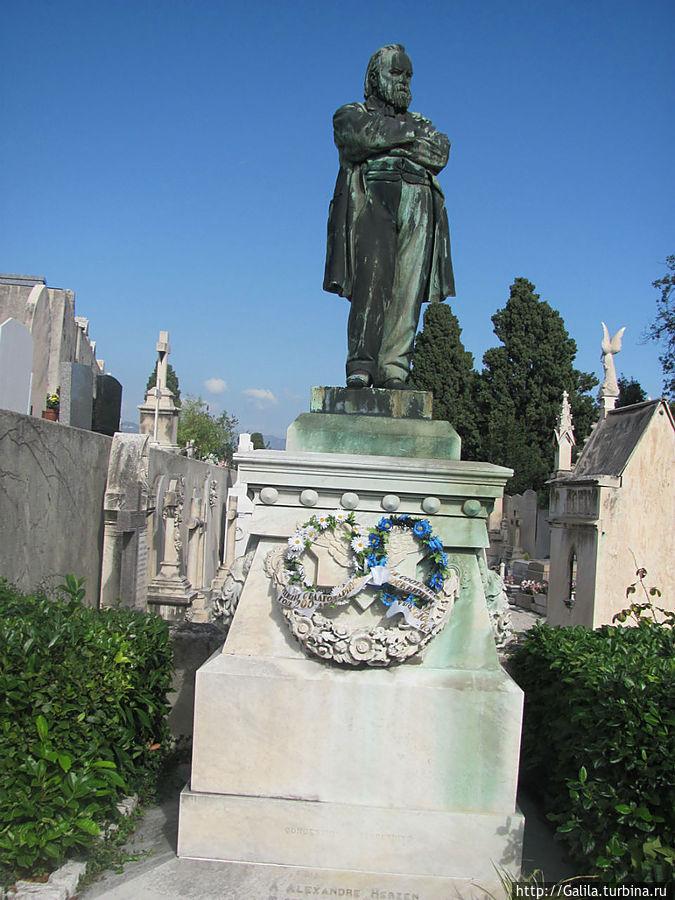 Место захоронения А. И Герцена.