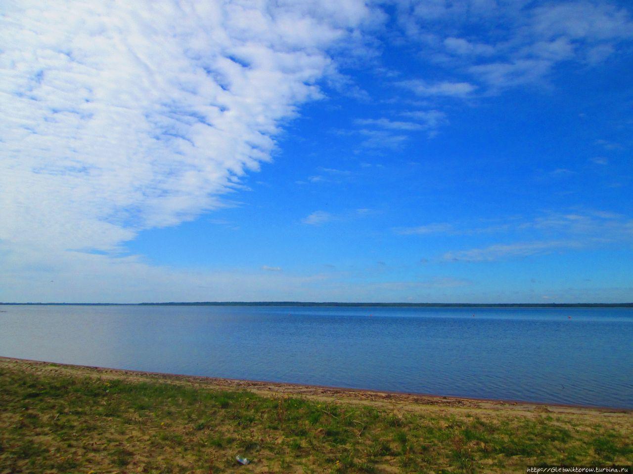 Браслав центральный пляж фото