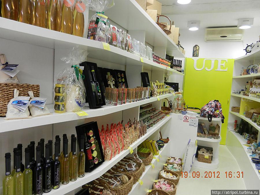 Оливковое масло в качестве сувенира