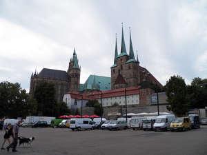 Домская (Соборная) площадь ‑ исторический центр Эрфурта