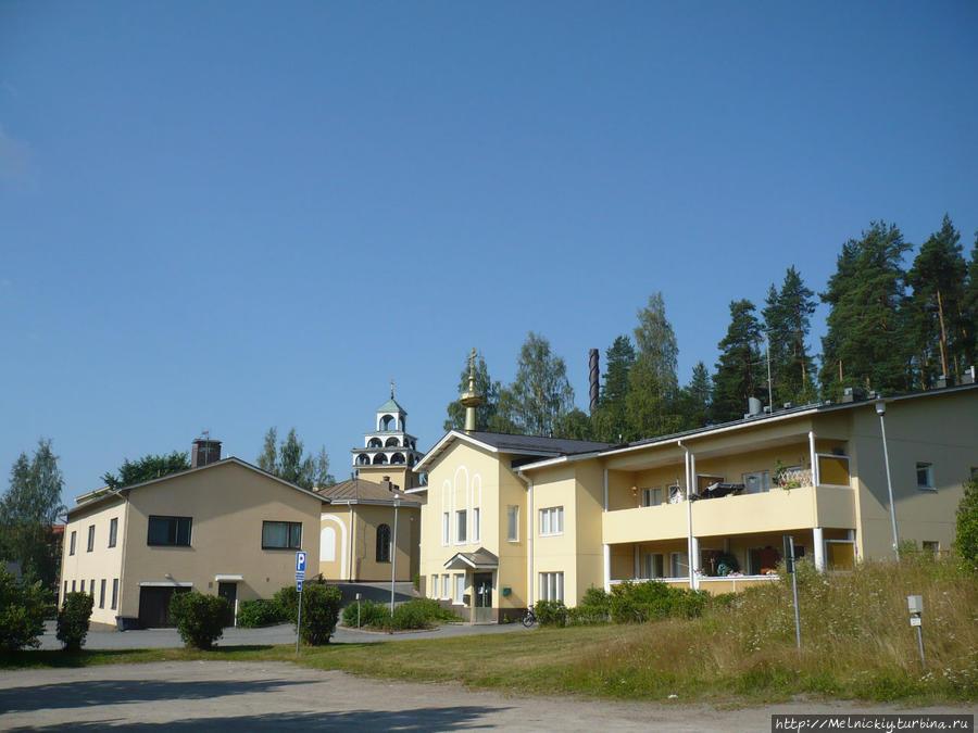 Воскресенская церковь Ювяскюля, Финляндия