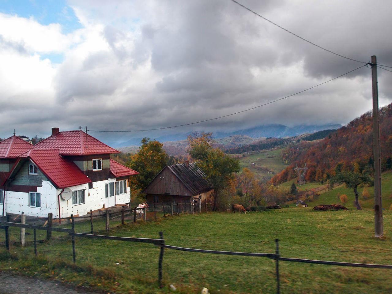 На золотистом бархате Карпат. Валахия Моэчу-де-Сус, Румыния