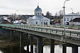 Мост через реку Кострому с видом на Преображенскую церковь