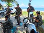 Полиция охраняет и заповедник и туристов