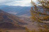 Вид в долину с перевала Чике-Таман