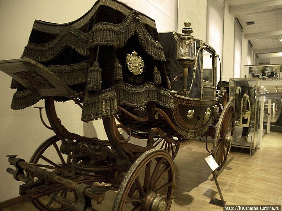 Карета для коронаций венгерских королей