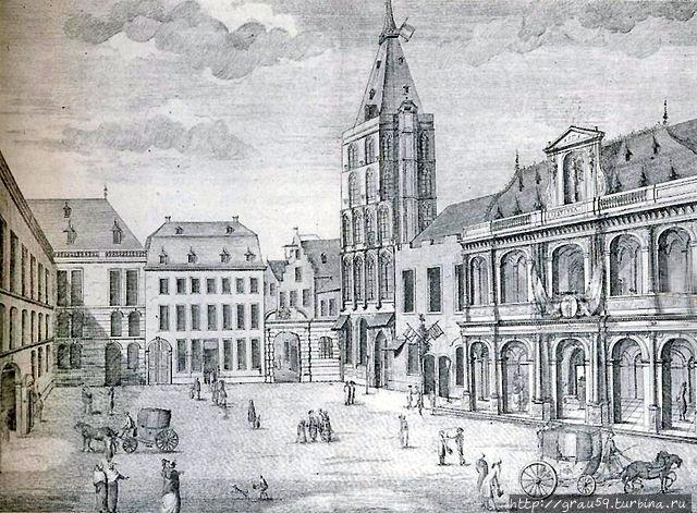 Ратуша 1798 год  (из Инте