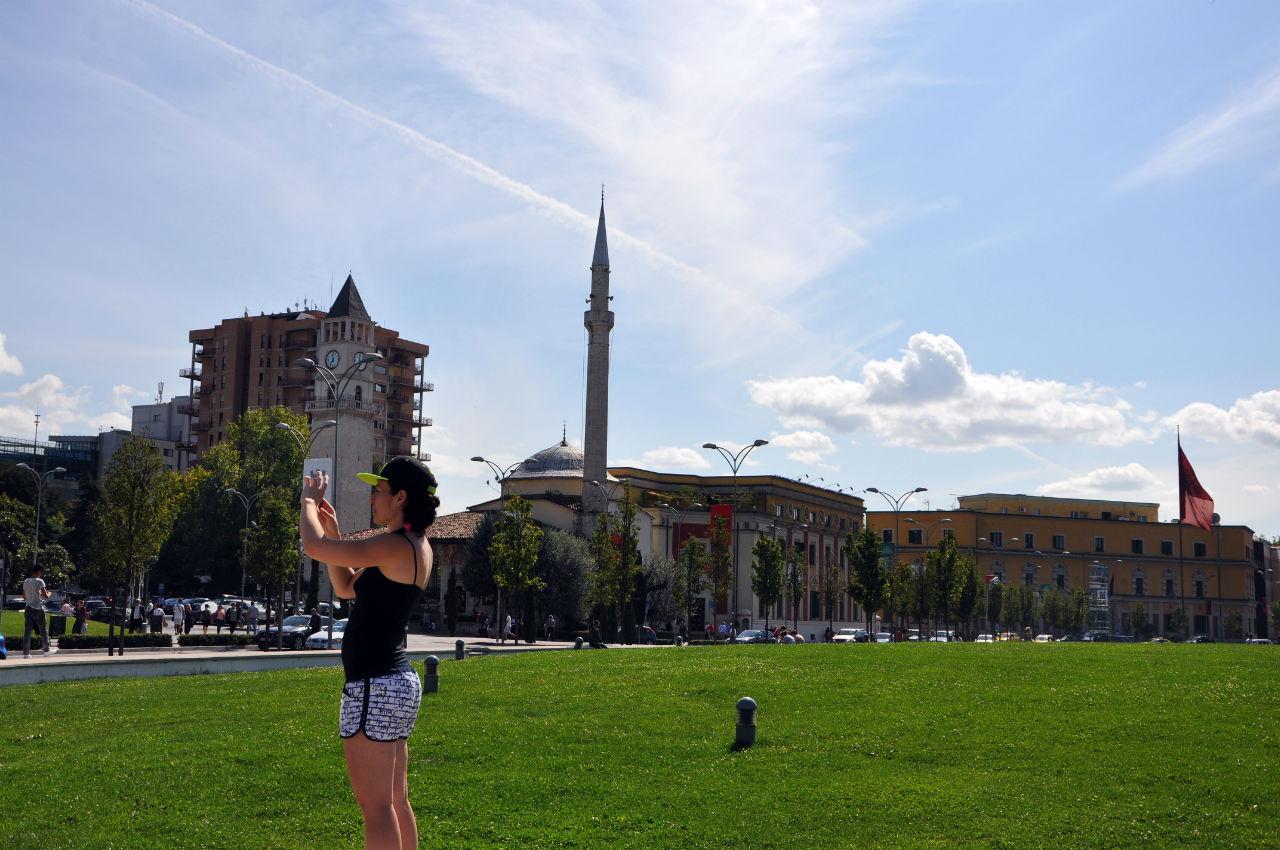 Дорогами Албании 3. Тирана. Тирана, Албания