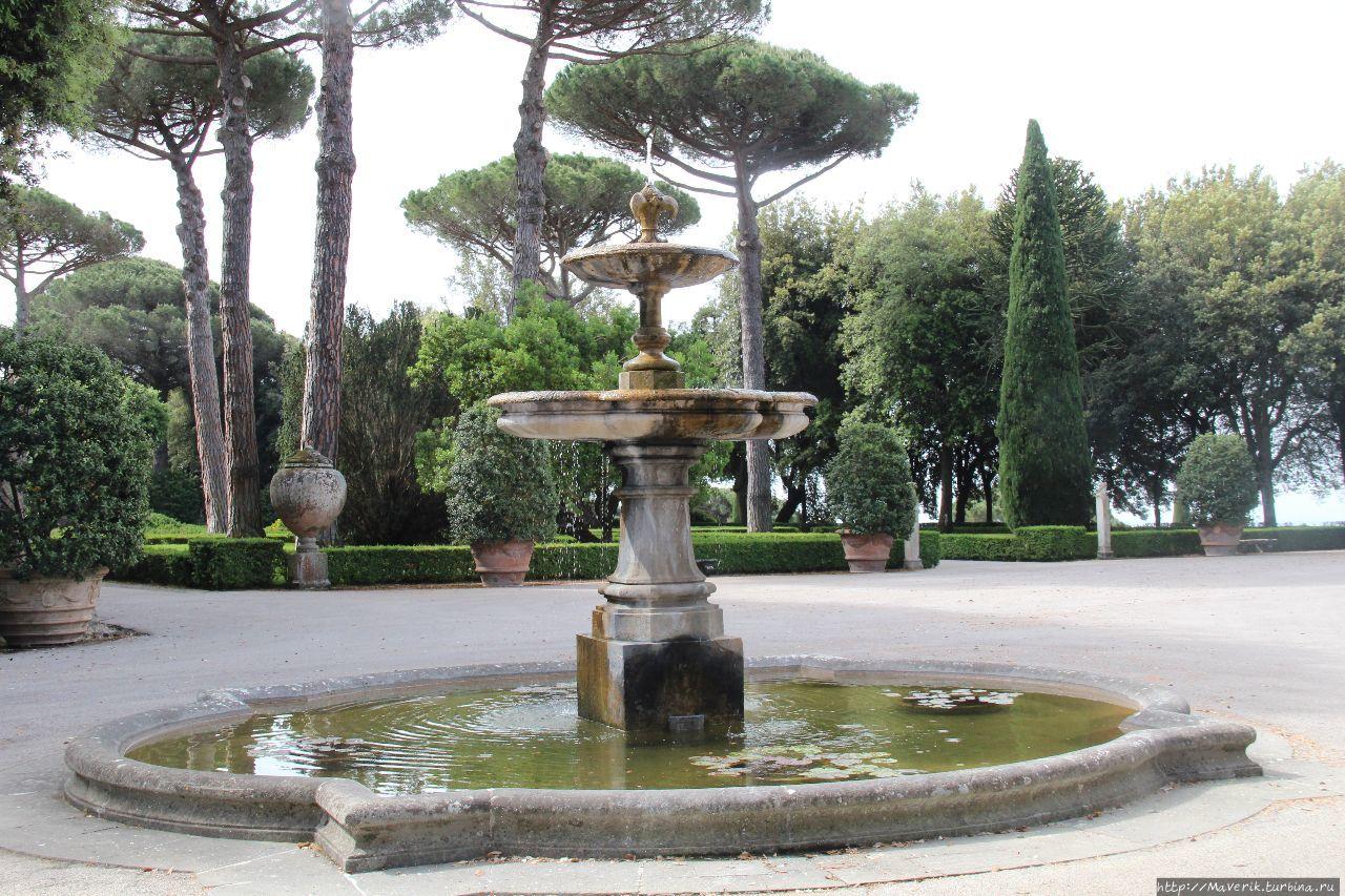 Сады виллы Барберини — очарование искусства и природы
