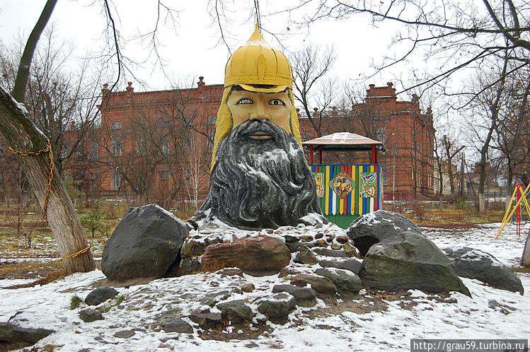 Голова.Автор Е.А. Зотов