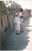 Маруся и Тема на стенах старого форта