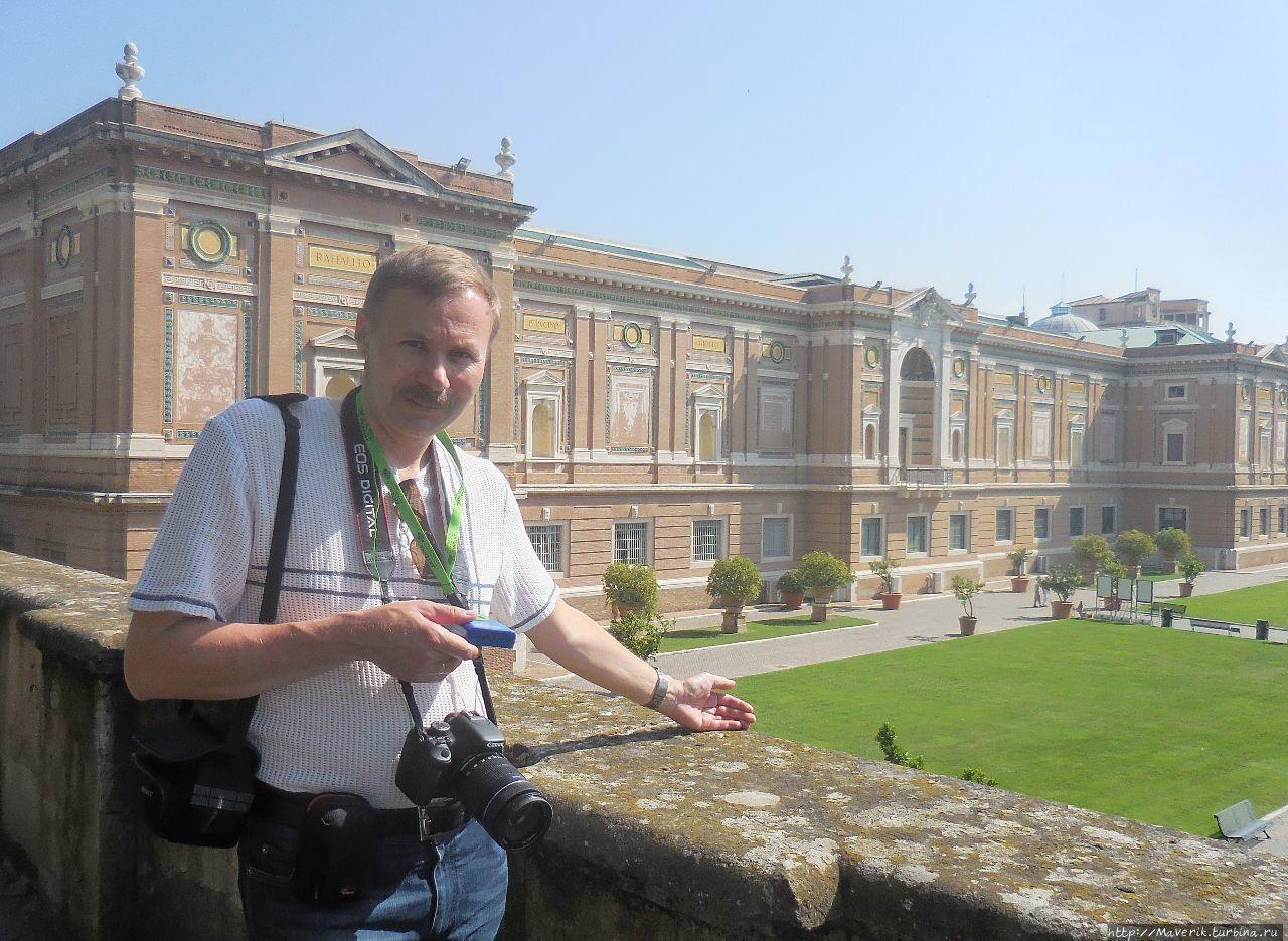 Прогулка по садам Ватикана Ватикан (столица), Ватикан