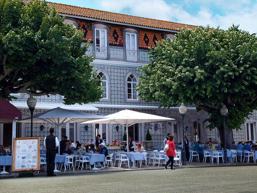 Про королевских сорок, мавританский замок и креветочный суп Синтра, Португалия
