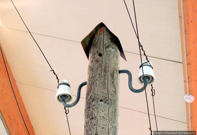 Вот как заботливо укрыт столб!