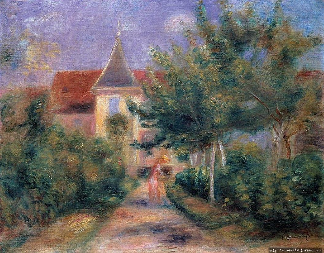 Дом Ренуара в Эссуа. 1906