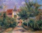 Дом Ренуара в Эссуа. 1906 г., Пьер Огюст Ренуар.  Фото из интернета.