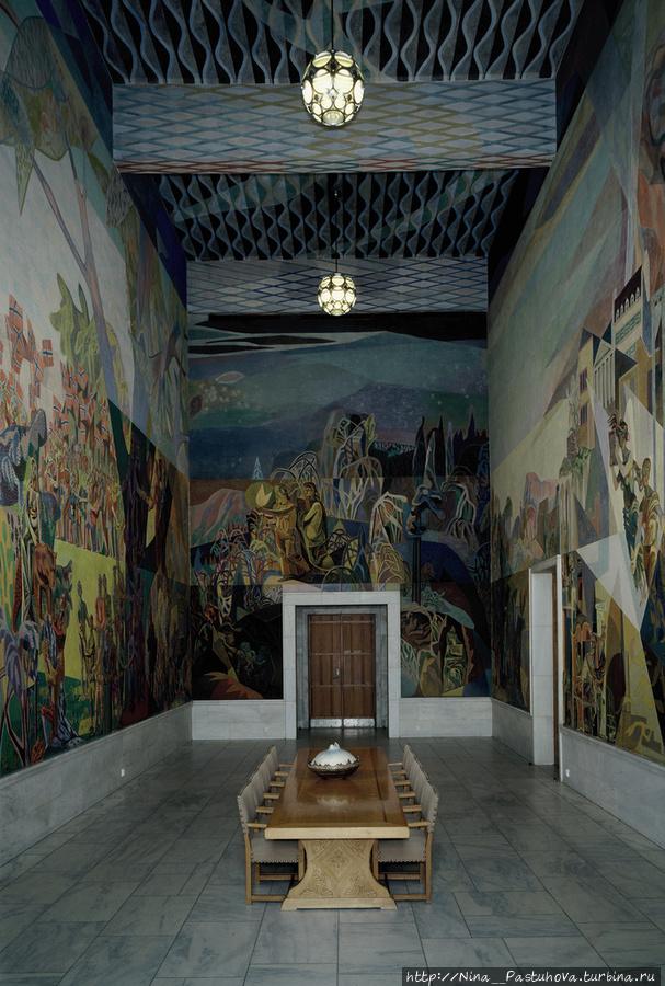 Западная галерея. Фреска