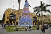 Рождественская ёлка в Лиме