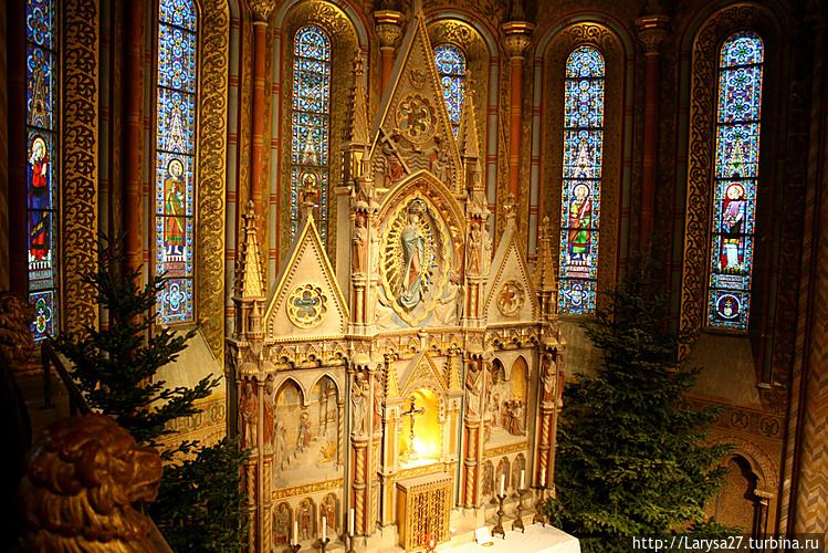 Церковь Матьяша — главный