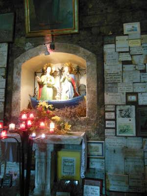 Святые Мария-Иаковлева и Мария-Соломия в лодке