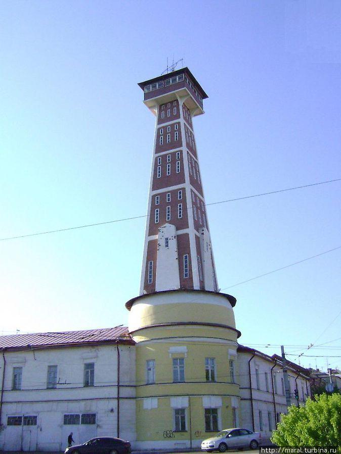 Рыбинская пожарная каланча — самая высокая пожарная каланча в России