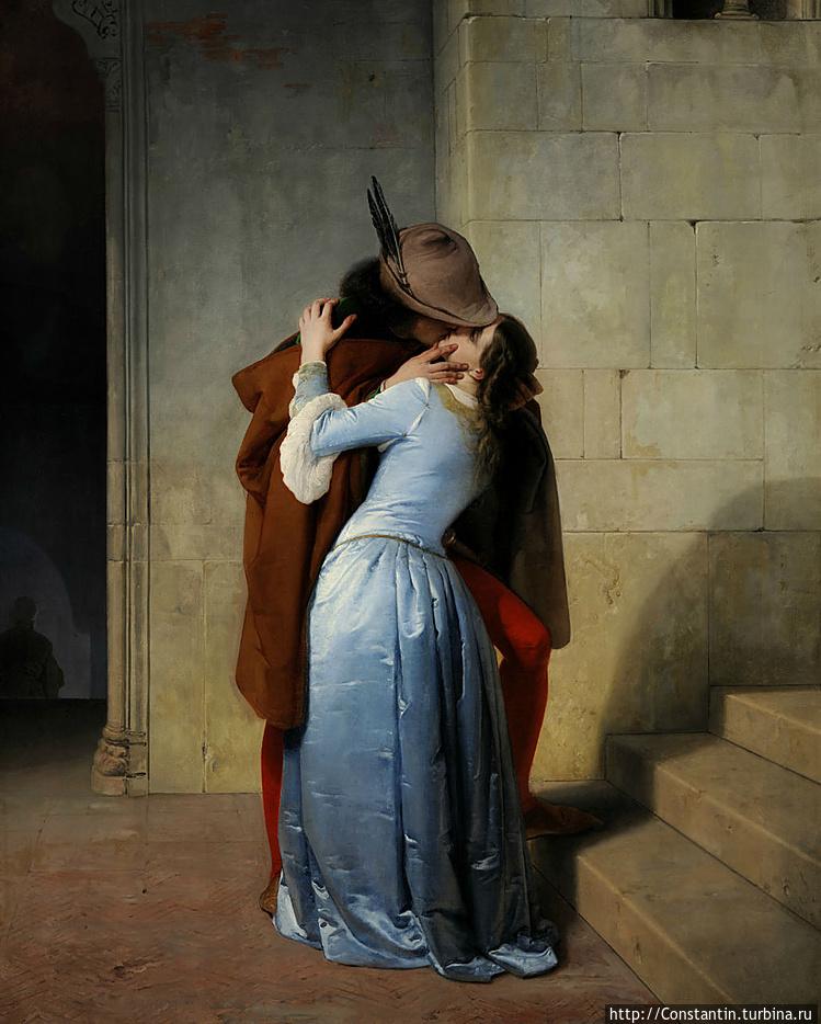 Франческо Айец — Поцелуй
