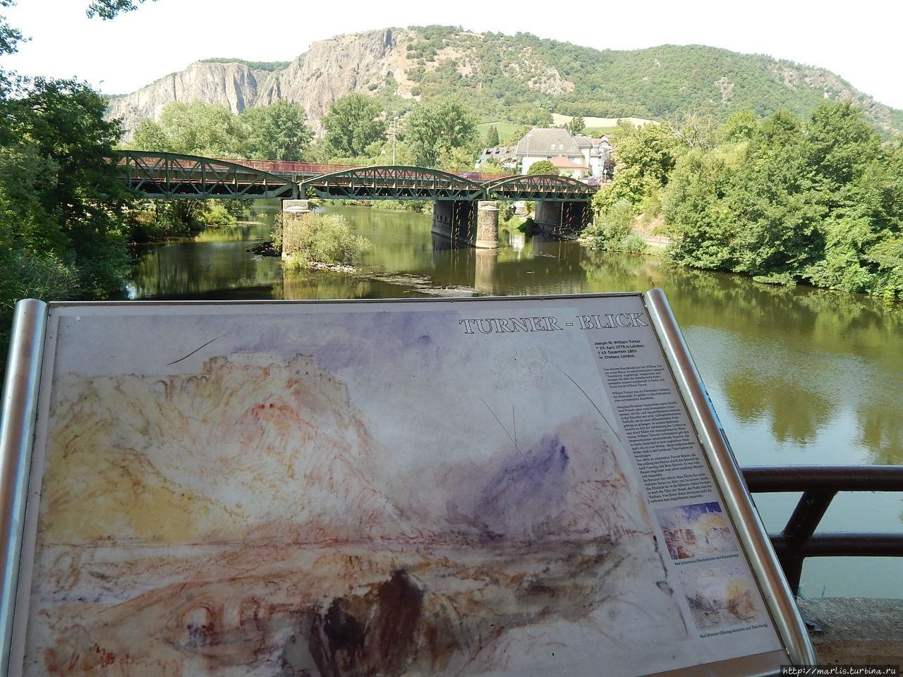 Ети места изобразил на своих акварелях английский художник Уильям Тернер