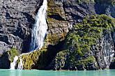 Водопад в районе фьёрдов
