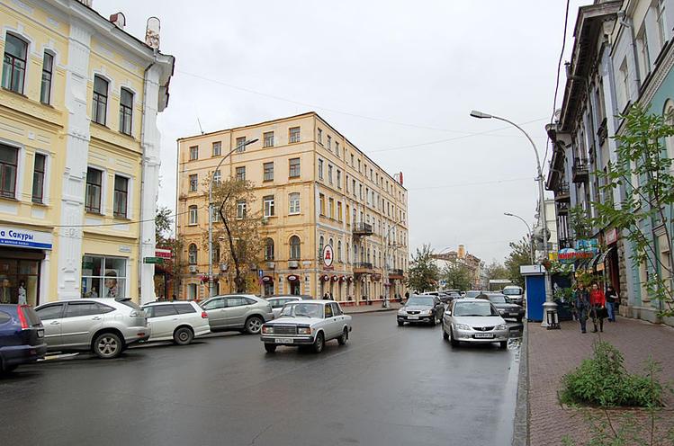 Где-то в центре Иркутска