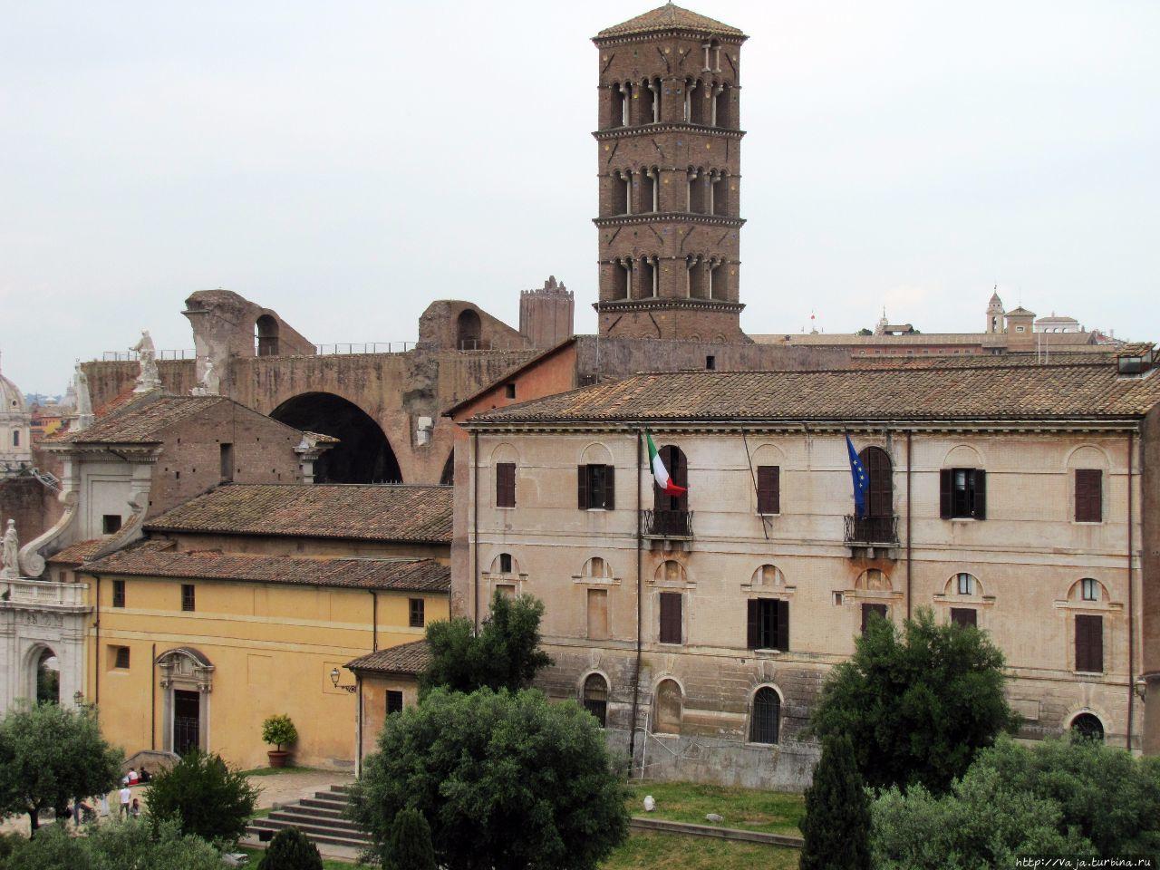 Церковь святой Франчески Рим, Италия