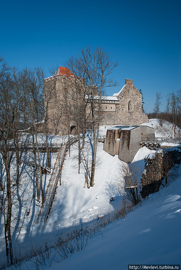 Замок Сигулда (Зегеволд — Segewold) Сигулда, Латвия