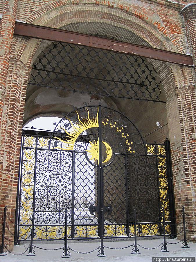 Ворота в башне Сююмбике