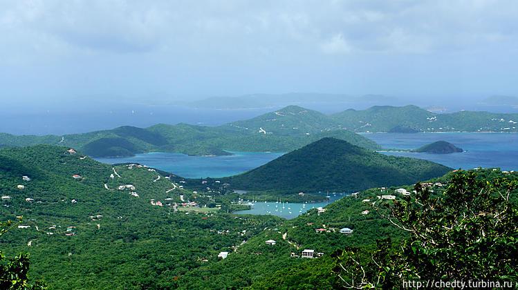 Многие острова соединены