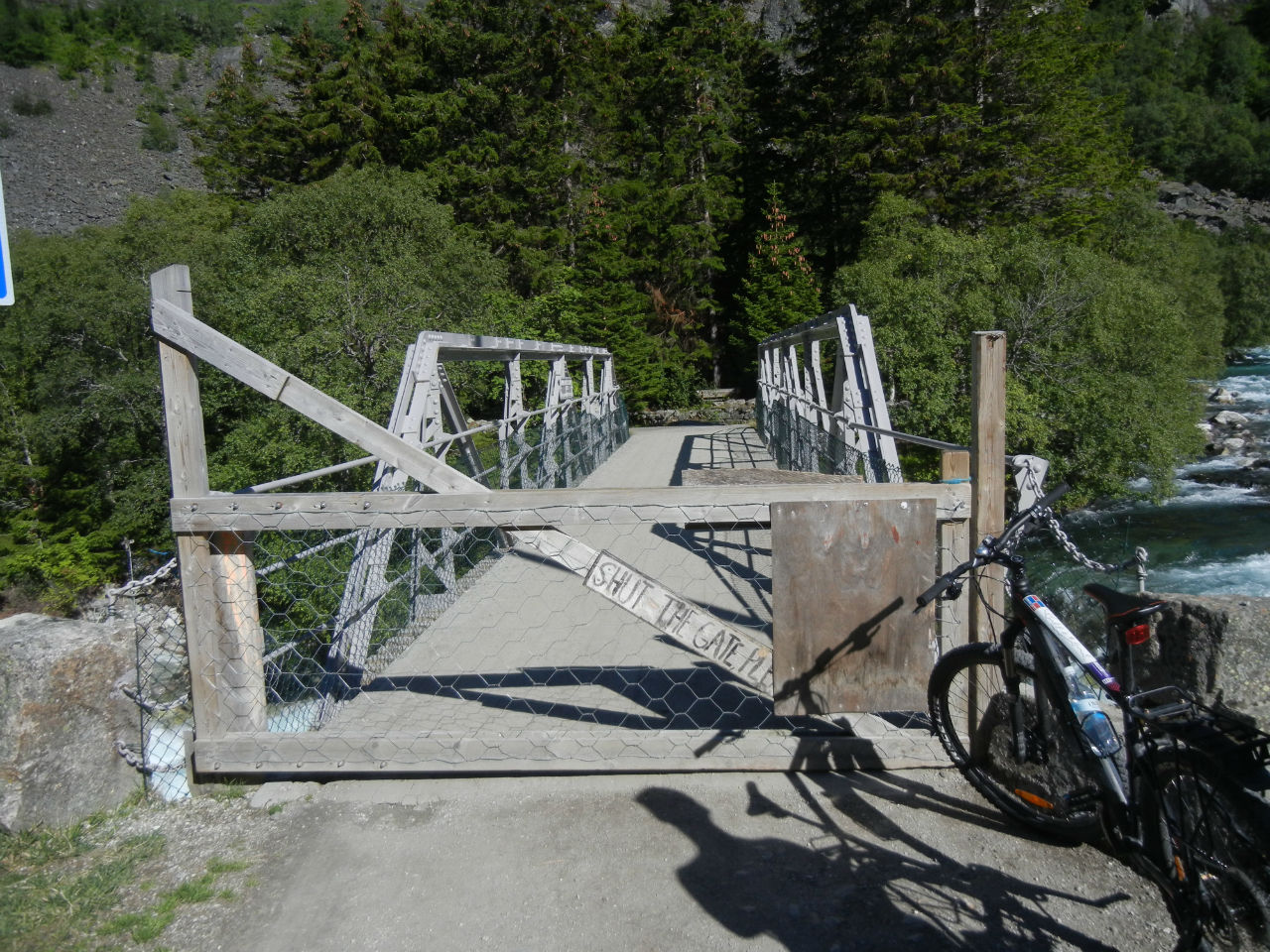 Ворота не для людей, а дл